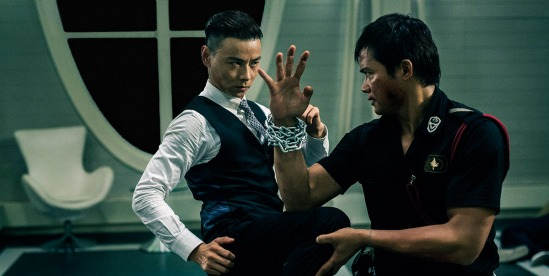 Tony Jaa and Zhang Jin in SPL 2: A Time for Consequences