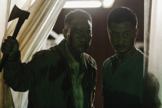 Simon Yam and Wu Jing in SPL 2: A Time for Consequences