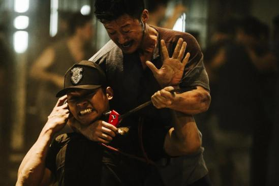 Wu Jing and Tony Jaa in SPL 2: A Time for Consequences